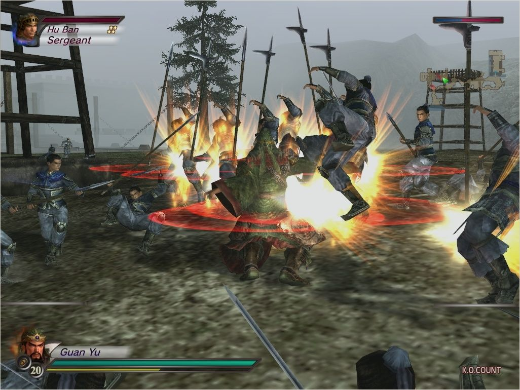 Dynasty Warriors 4 / �������� ������ 4[RUS / ENG] (2005)