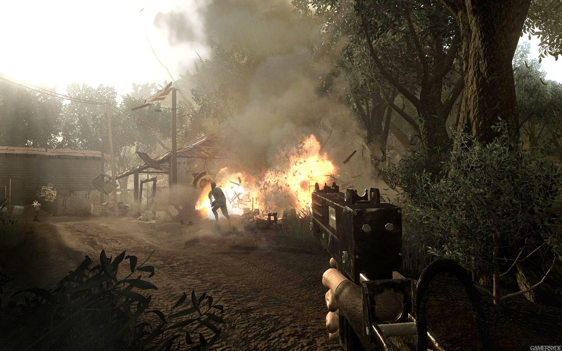 Знакомство с главным злодеем Far Cry 2.