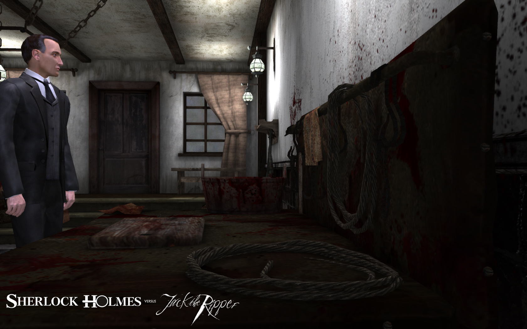 Sherlock Holmes vs. Jack the Ripper на XBOX360.