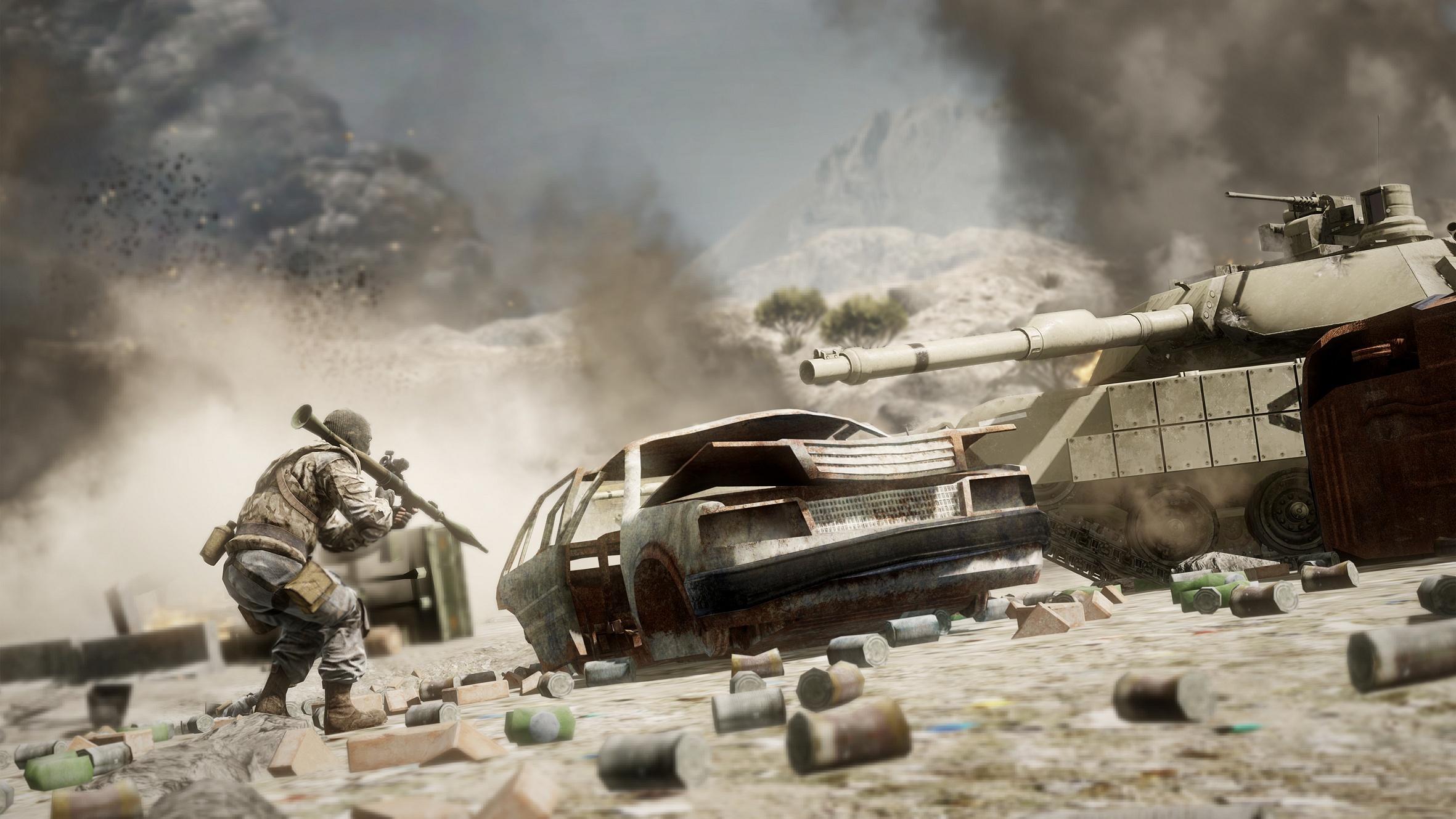 Сайт игры www.battlefield.com/badcompany2 Разработчик EA Digital