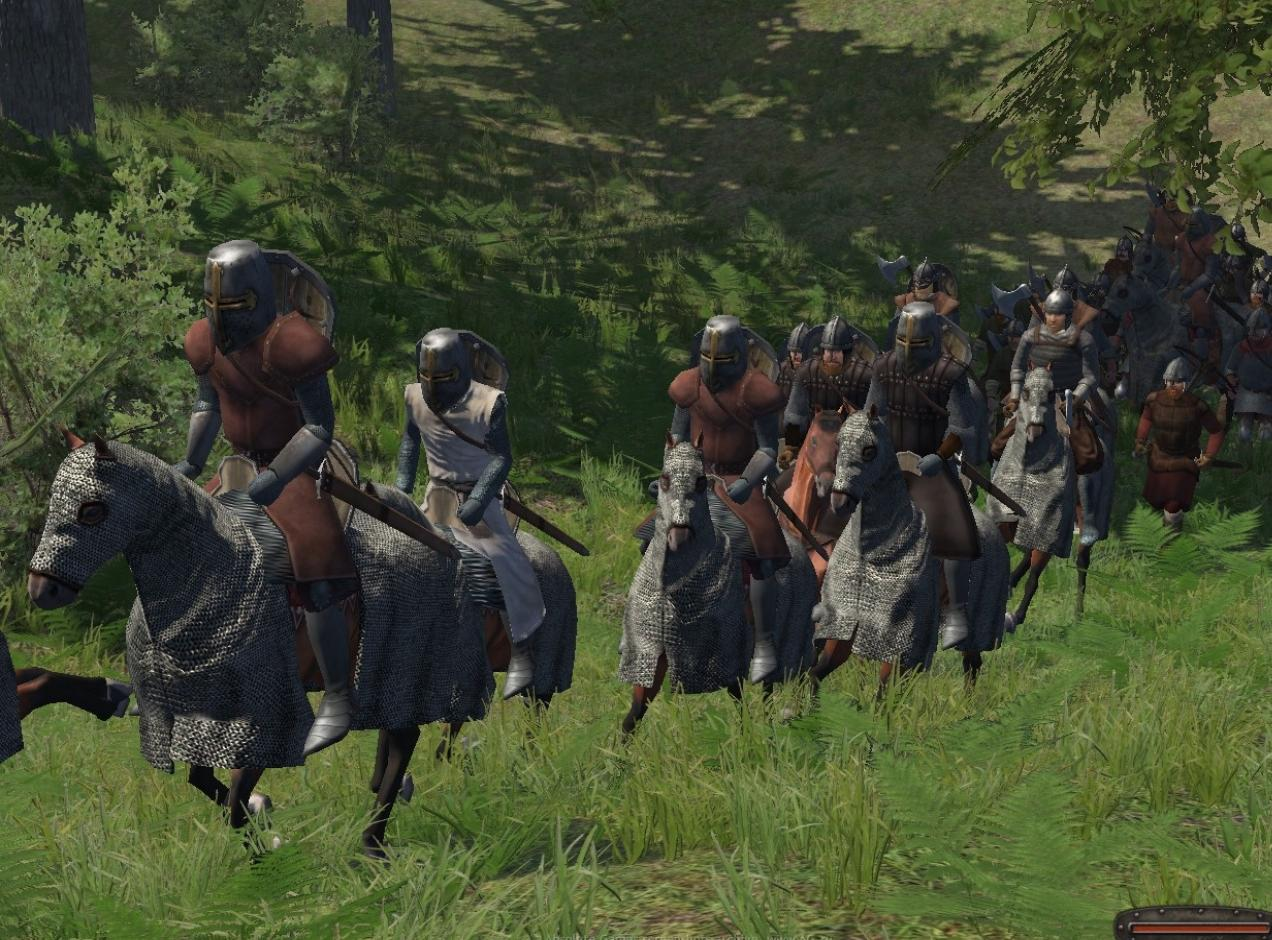 Mount & Blade Warband screenshot скриншот.