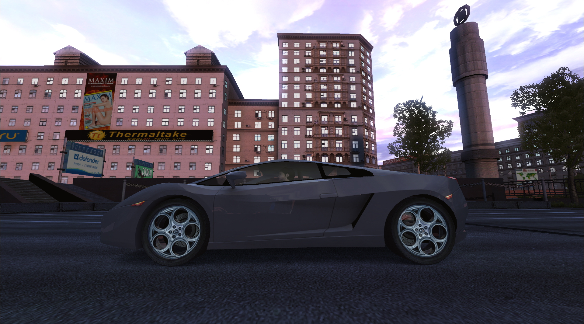 Moscow Racer (2009/Rus/Акелла) PC.