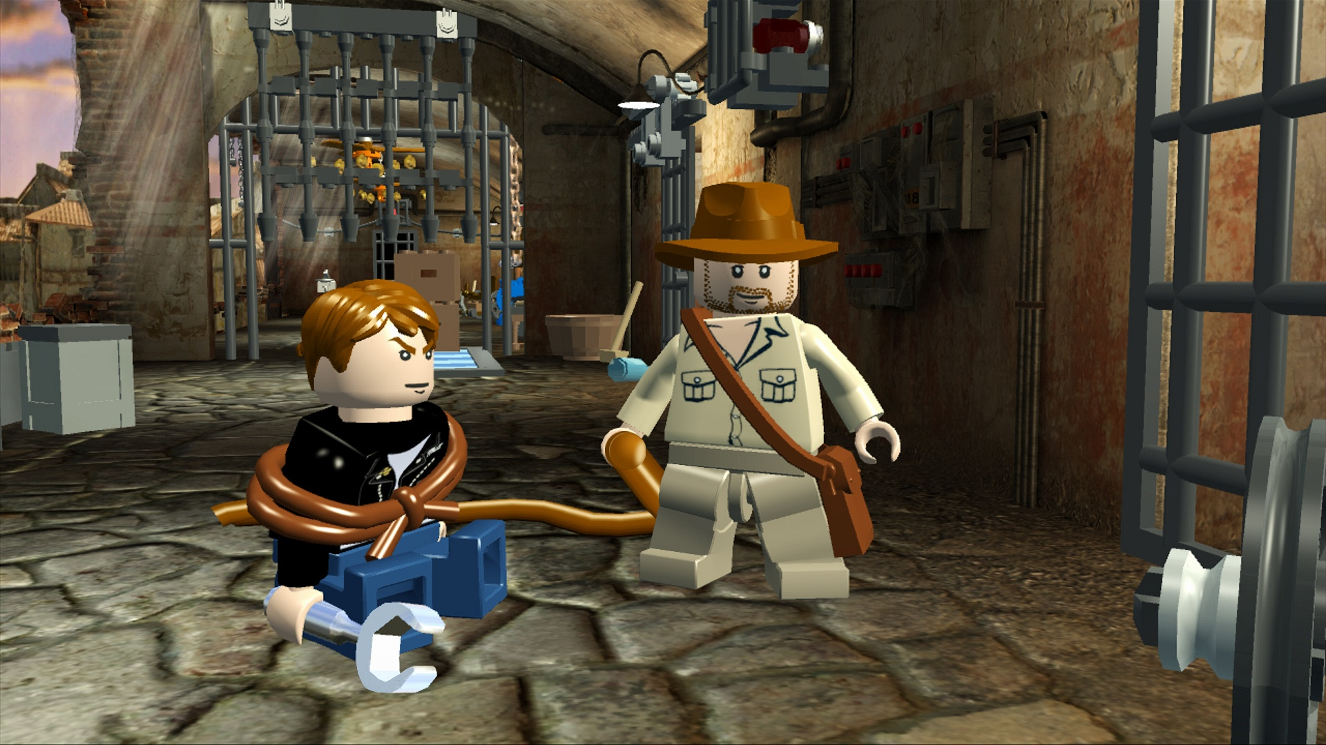 Lego Indiana Jones 2.The Adventure Continues (2009/RUS/RePack) .