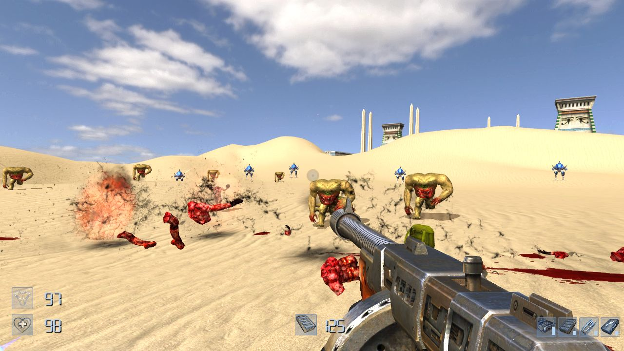 Serious Sam The First Encounter HD.