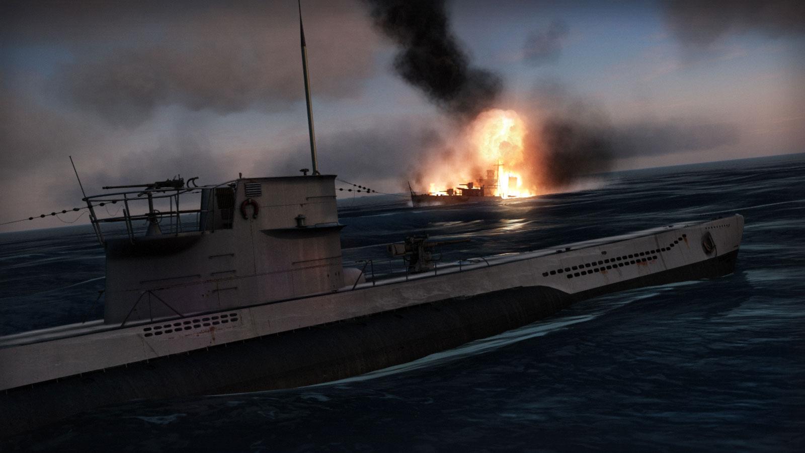 Скриншот игры Silent Hunter 5. Битва за Атлантику. Классика жанра .