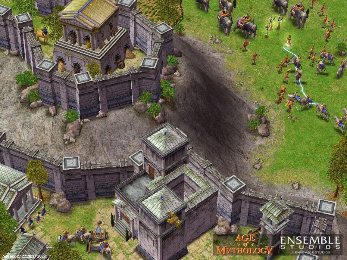 Скриншоты Age of Mythology  Золотое Издание.