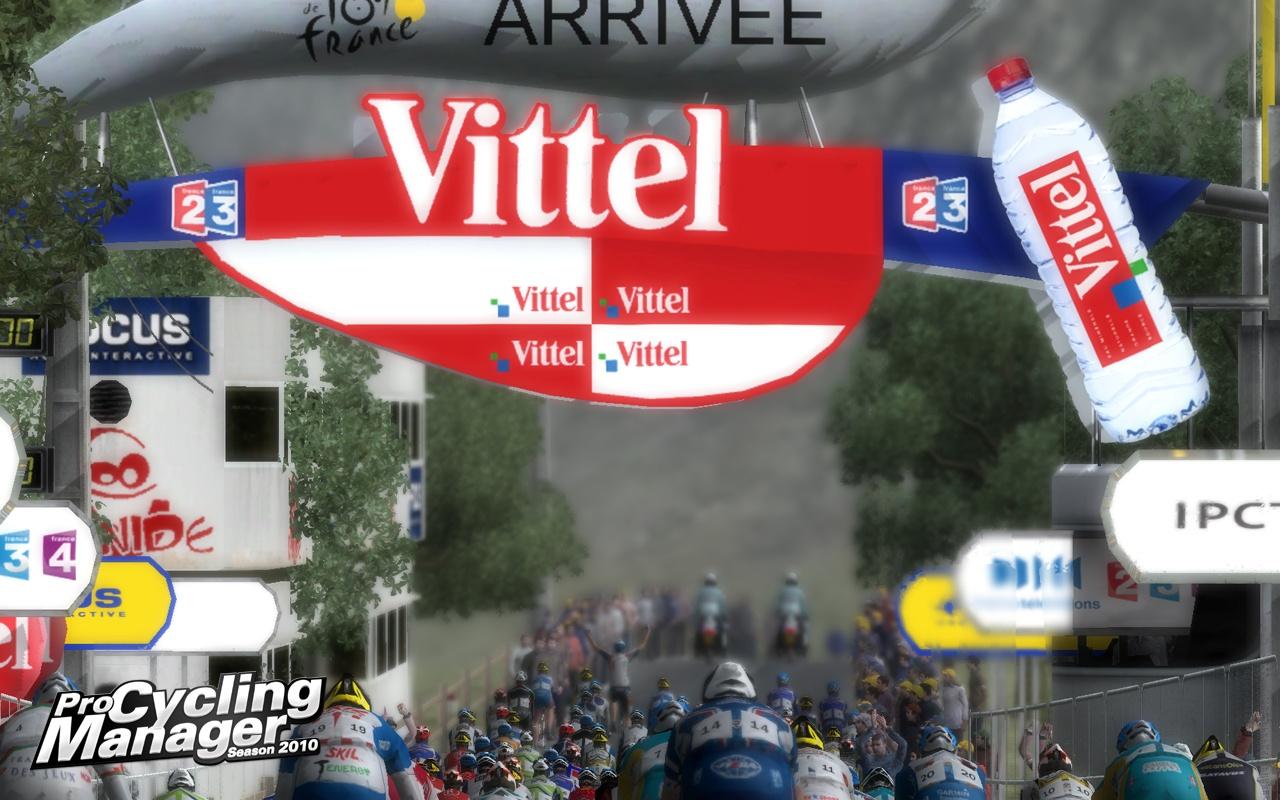 Текущий показываемый скриншот из игры strong em Pro Cycling Manager