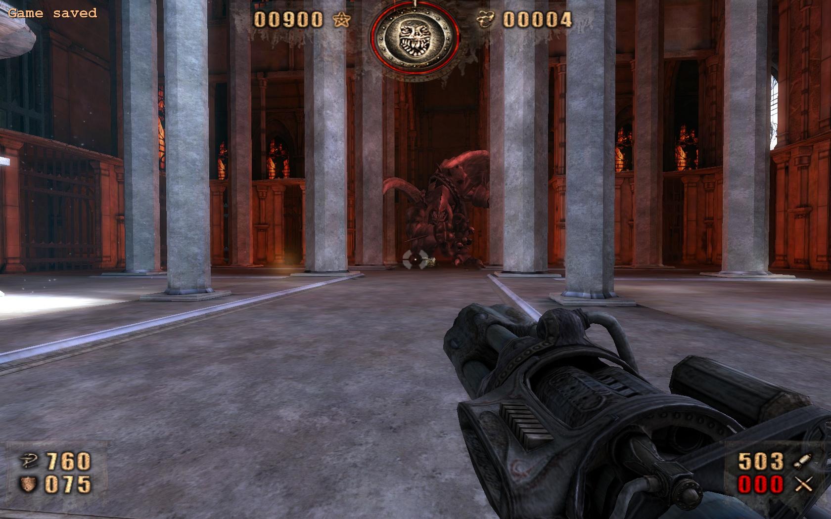 Скриншоты из игры Painkiller Redemption.