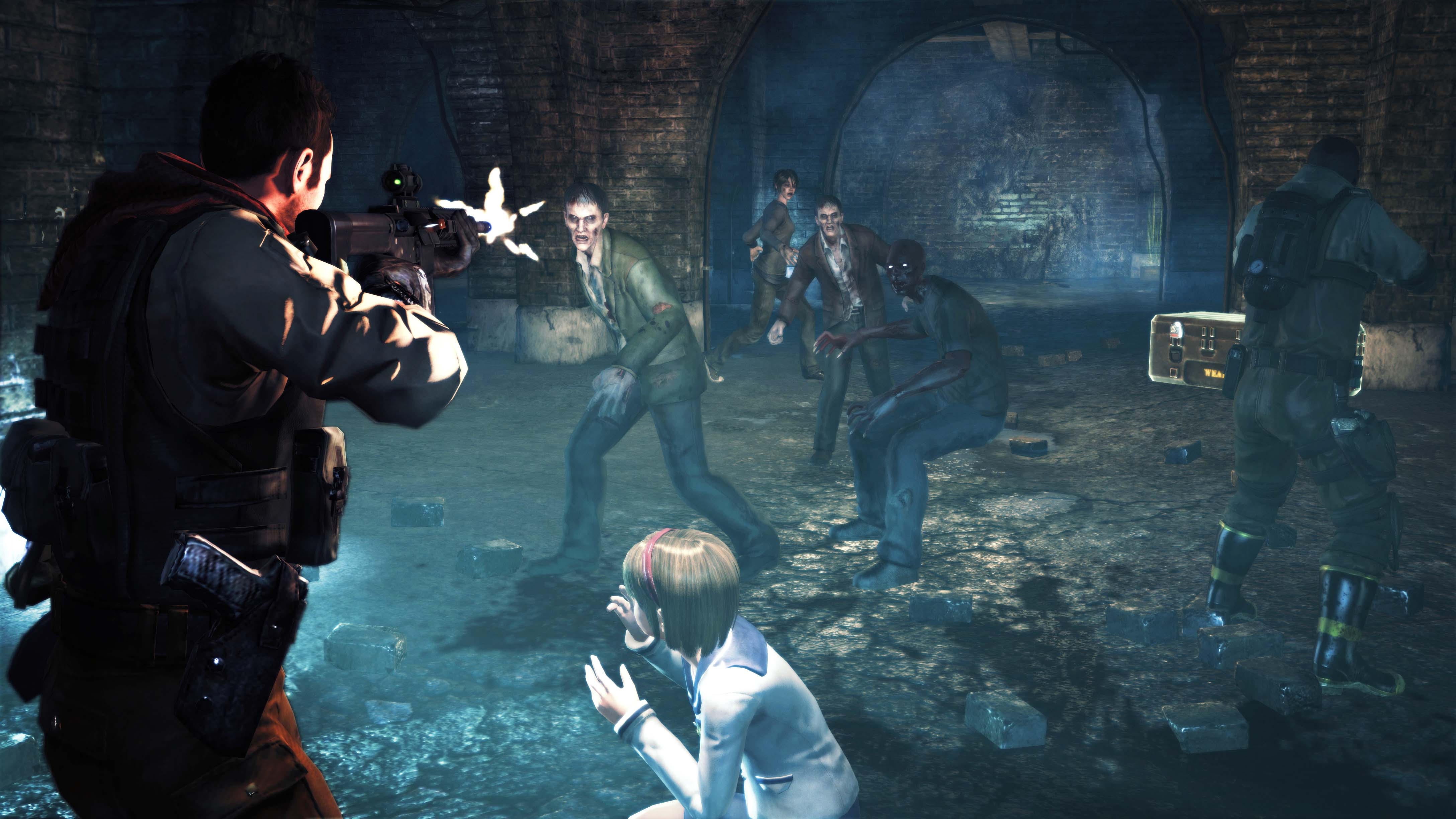 Download resident evil operation raccoon city nude  exposed pictures
