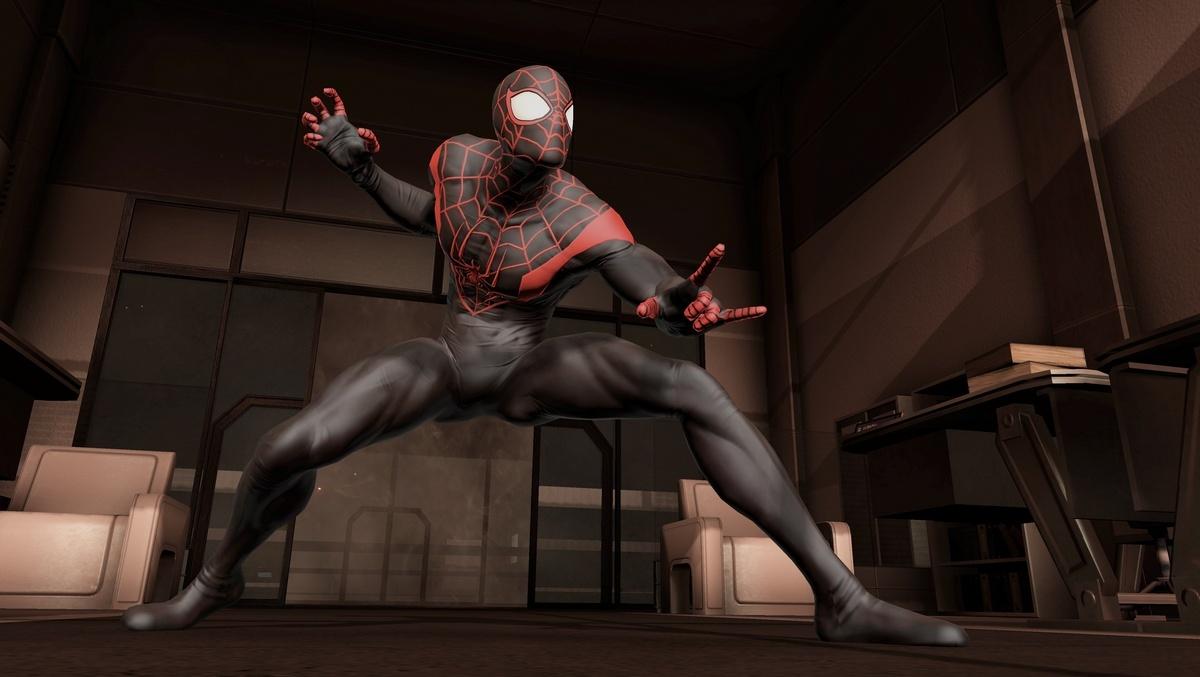 Костюмы человек паук игры 11