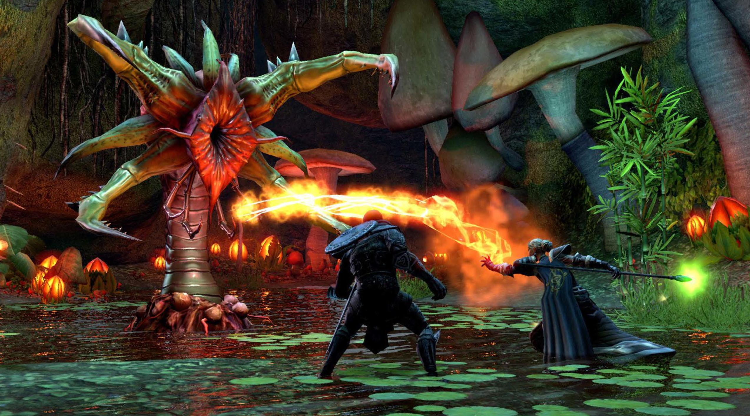 Скриншоты и арты The Elder Scrolls Online.