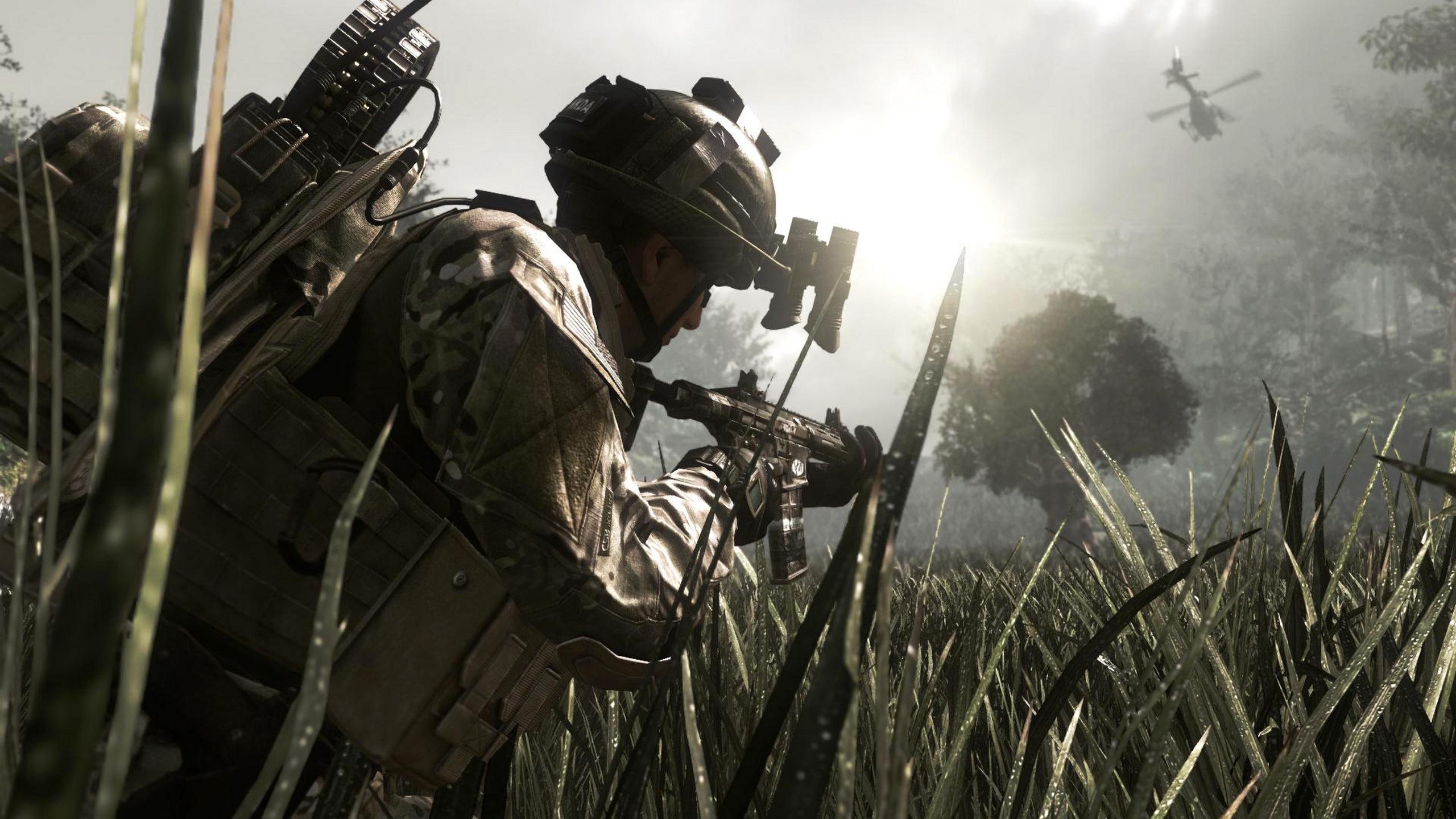 Скачать игру Call of Duty Ghosts бесплатно.