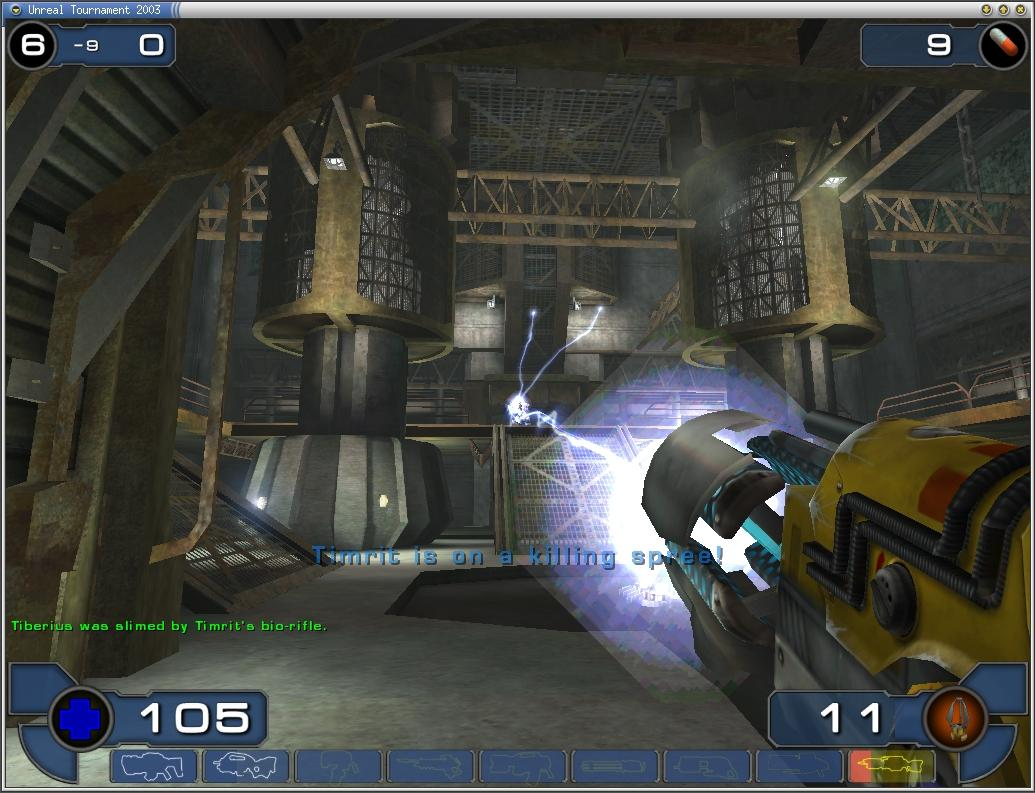 Ok may seem like a silly question for Unreal tournament 2003