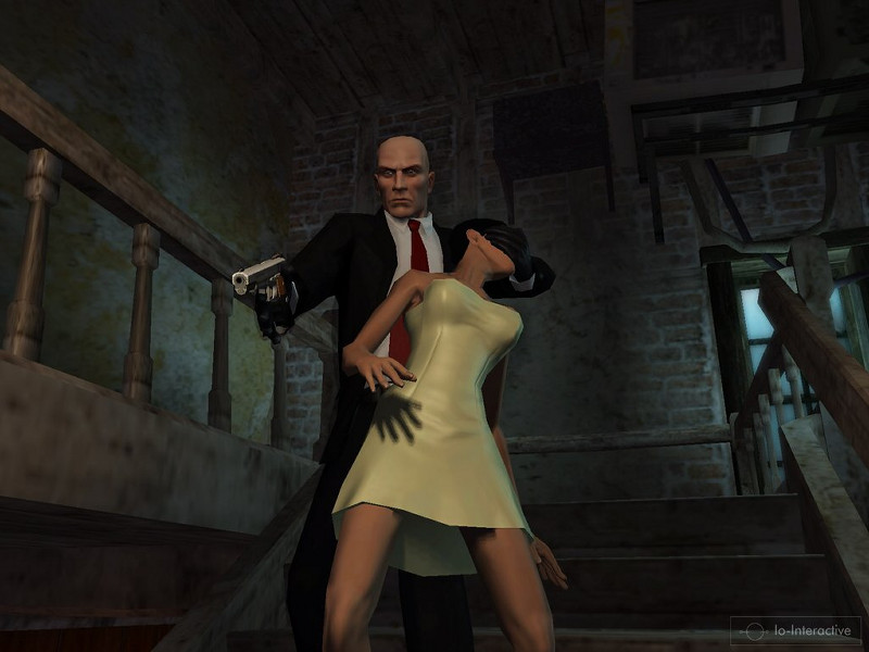 Скачать игру Hitman Blood Money (2006/PS2/RUS) .