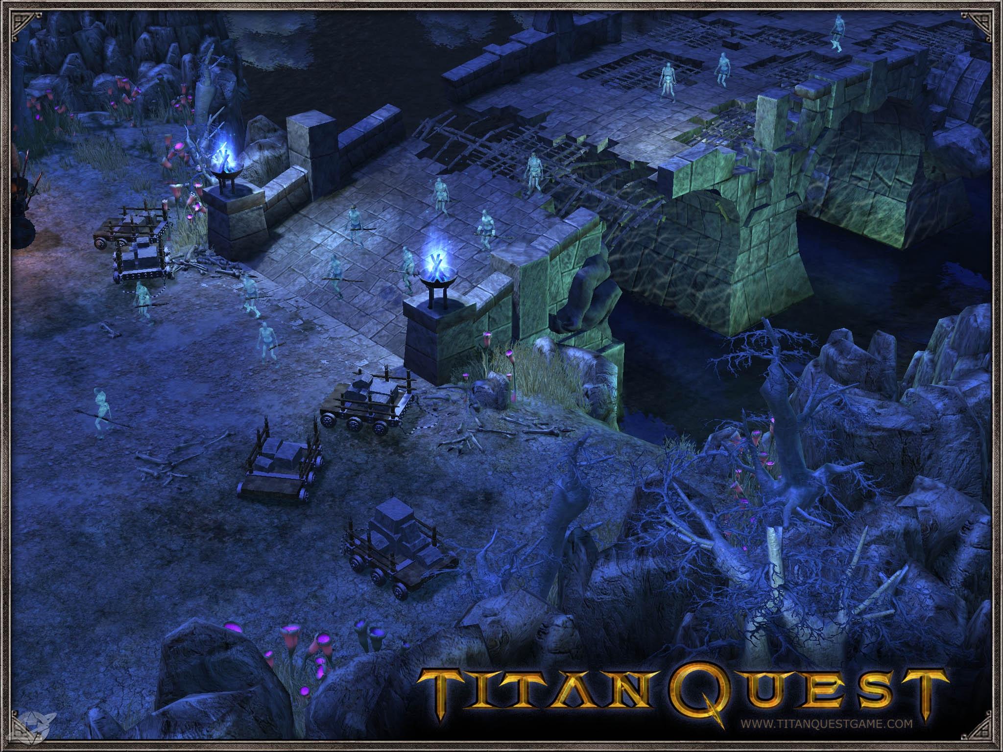 На днях из нового ролевого проекта под названием Titan Quest Im…