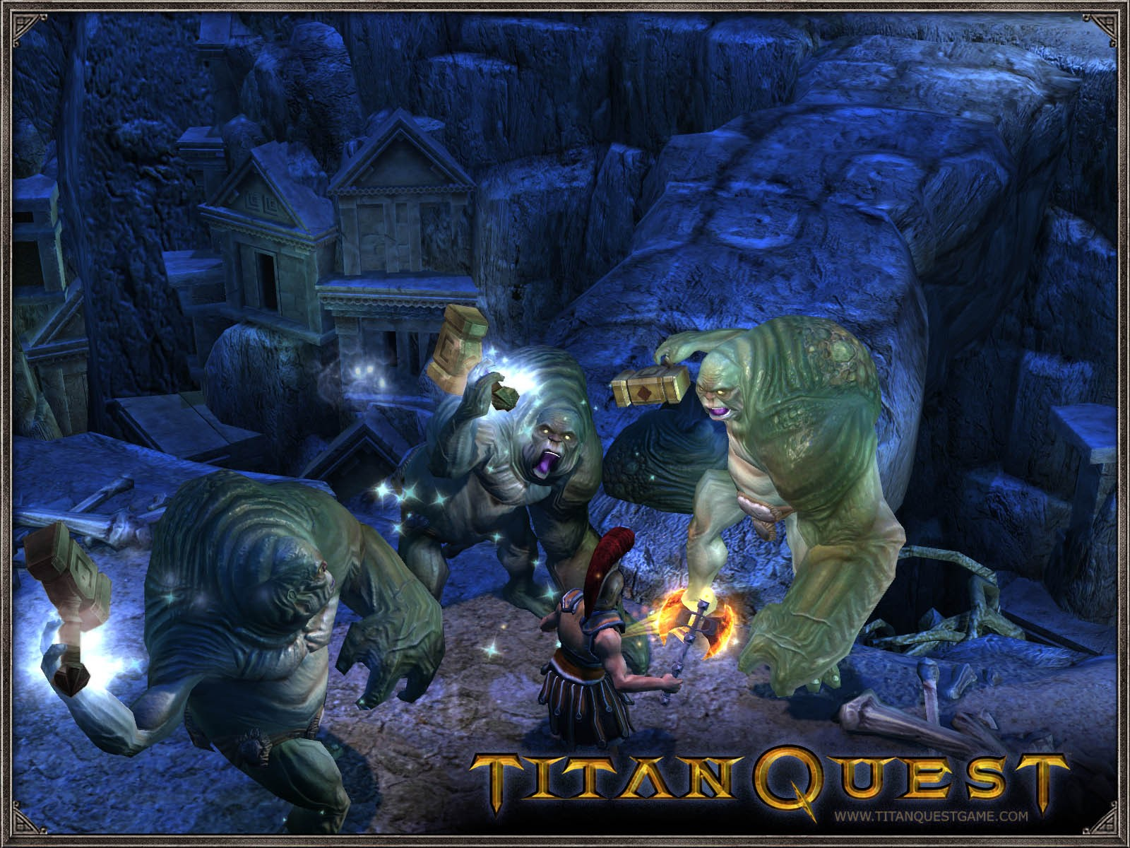 Titan Quest Gold Edition / Titan Quest + Titan Quest Immortal Throne