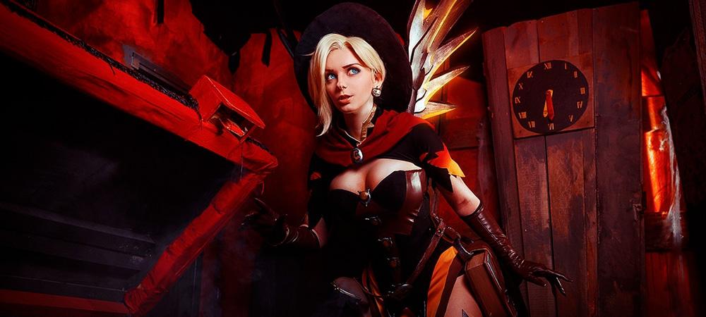 overwatch cosplay angel