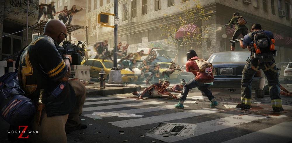 Более 40 минут геймплея из зомби-экшена World War Z