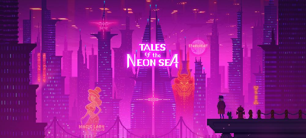 Детективная киберпанк-адвенчура Tales ofthe Neon Sea выйдет 30 апреля