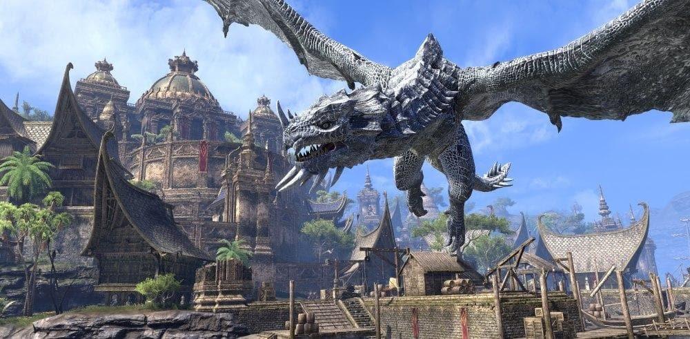 Для ролевой игры The Elder Scrolls Online вышло дополнение Dragonhold