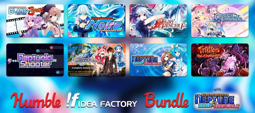 Стартовал Humble Idea Factory Bundle: ко многим играм есть русификаторы!