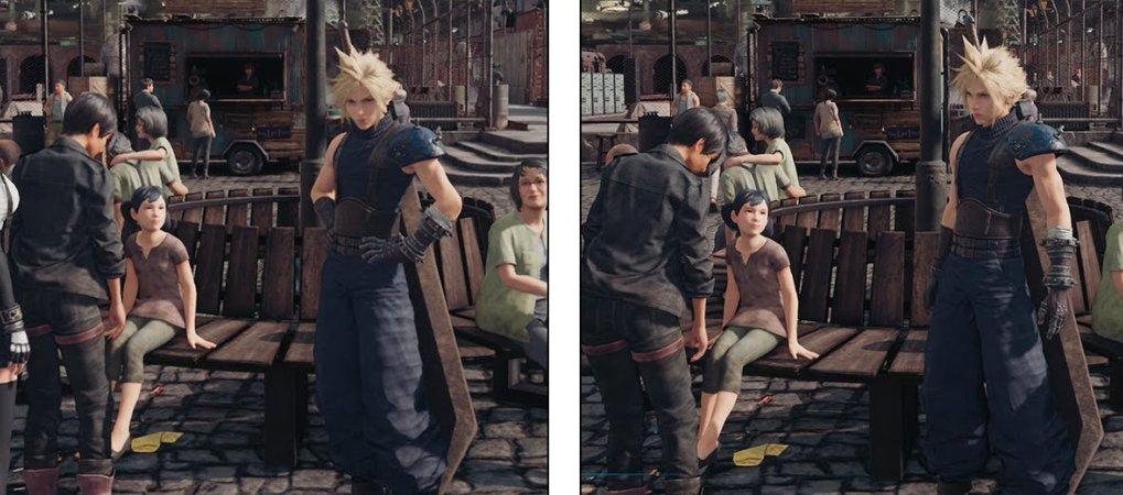 Как ремейк Final Fantasy VII работает на PS4 и PS4 Pro