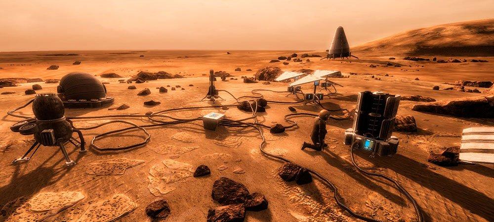 В архив добавлен переводTake on Mars
