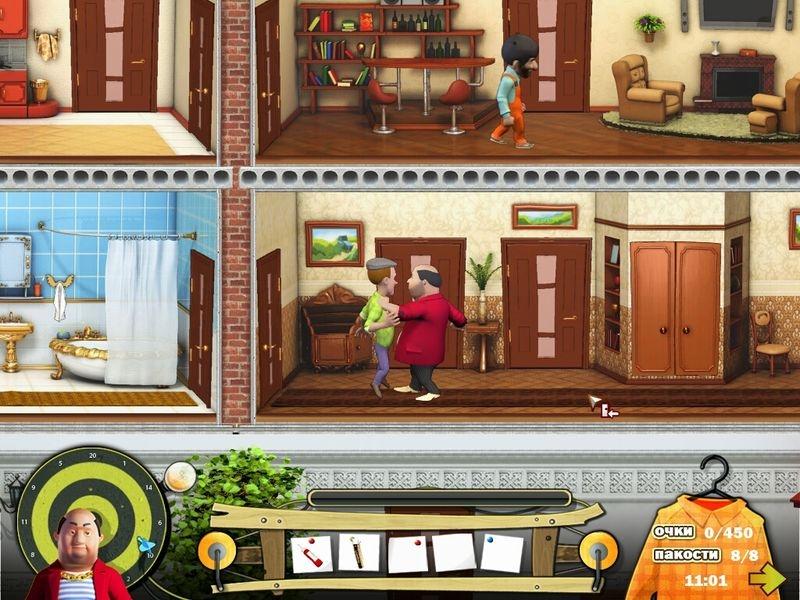 Скачать бесплатно игру Как достать соседа. Сладкая месть.