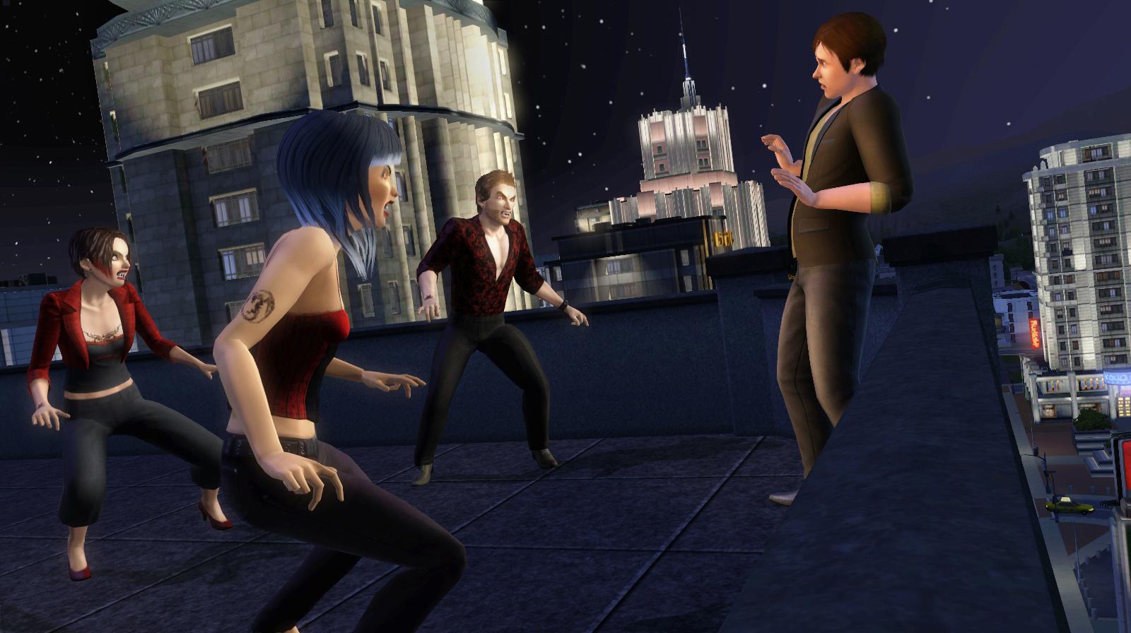 Вампиры в The Sims 3 в Сумерках предоставляют возможность играть.